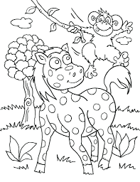african lion safari coloring pages cartoon animal printable