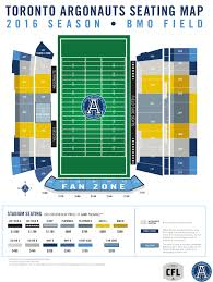 seating chart u2013 bmo field