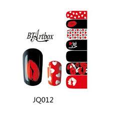 buy 1pc nfc nail stickers mobile sensors blinking nail art