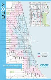 divvy chicago map divvy expanding to neighborhoods adding 176 stations