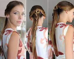2015 spring hairstyles spring 2015 braided hairstyles inspired from the runway fashionisers