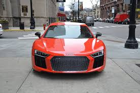 audi r8 chrome blue 2017 audi r8 v10 plus stock l283a for sale near chicago il il