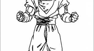 dragon ball goku super saiyan 2 coloring pages archives cool