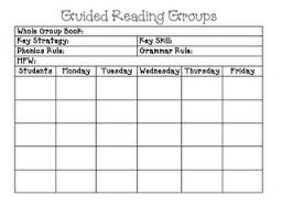 guided reading groups lesson plan template followpics co