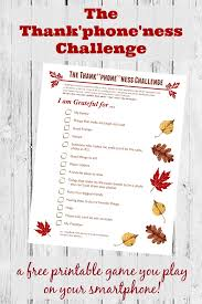 thanksgiving photo scavenger hunt w free printable