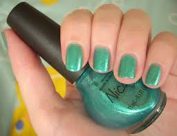 nicole by opi diva into the pool nail polish review through the