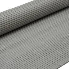 sichtschutz balkon grau pvc sichtschutzmatte 90x500cm grau windschutz real