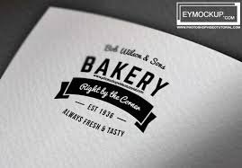 free download awesome logo mockup template