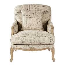 Linen Club Chair Vintage French Oak Club Chair White Linen