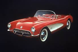 corvette stingray 1953 gm says 60th anniversary corvette