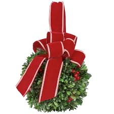 trim a home outdoor christmas decorations christmas swag christmas wreaths u0026 garland the home depot