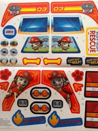 paw patrol power wheels decal for lil quad paw patrol fire truck power wheels service