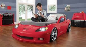 blue corvette bed buy step2 corvette bed toddler to with lights at low