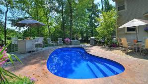 Backyard Leisure Pools by Tulsa Custom Pools Vinyl And Fiberglass Pools Custom Swimming