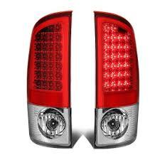2003 dodge ram tail lights dodge ram 2500 2003 2006 red led tail lights a135xa39109