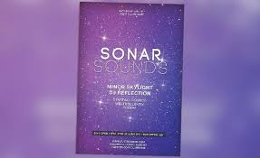 sonar sound vol 1 minimal electro free psd flyer template http