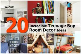 20 incredible teenage boy room decor ideas