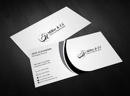Lawyers Business Cards Bold Personable Business Card Design For Miller U0026 Co Lawyers