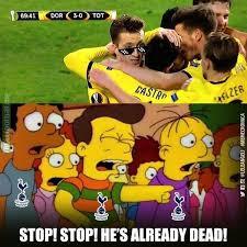 Tottenham Memes - tottenham hotspur fans be like soccer memes goal91