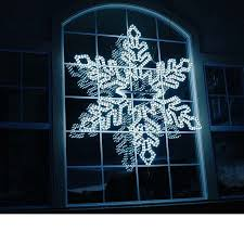36 led rope light snowflake cool white blue novelty lights inc