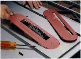 table saw dado blade insert cutting dadoes with a dado blade setcutting rabbets with a table saw