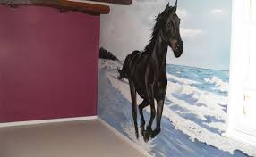 chambre fille cheval decoration chambre fille cheval visuel 9