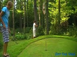 Backyard Golf Course by Backyard Golf Skillz 5 Youtube