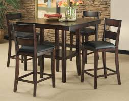 Leather Chairs For Kitchen Table Kitchen Kitchen Table Sets Espresso Kitchen Table Set Round