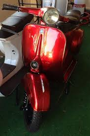 blood red paint vespa v50 lackierung candy blood red red paint vintage vespa