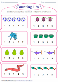 math counting worksheet counting worksheets