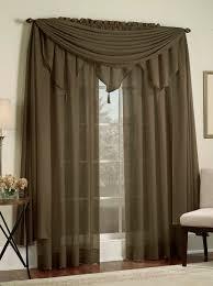 Semi Sheer Curtains Reverie Semi Sheer Panels U2013 Chocolate U2013 Lorraine Casual Curtains
