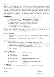 Declaration In Resume Sample Sample Php Developer Resume Web Developer Resume Template Php