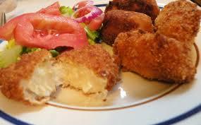 comment cuisiner des restes de poulet croquetas au thon tarsio s croquetas missvdc