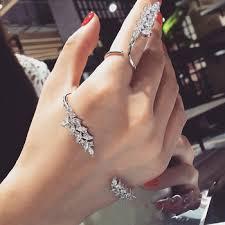 vintage rings aliexpress images Cataza vintage sliver jewelry cz rhinestones crystal pave flower jpg