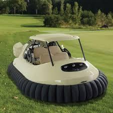 golf cart the golf cart hovercraft hammacher schlemmer