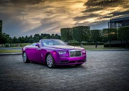 roll royce dawn black a purple rolls royce dawn vehiclejar blog