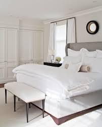 wingback upholstered headboard transitional bedroom mcgill