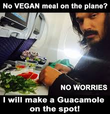 Vegan Meme - no vegan meal on the plane meme truestory vegan