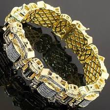 man golden bracelet images Mens solid gold bracelet diamond chains for men mens diamond jpg