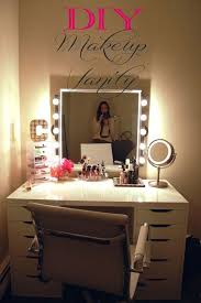 Lighting Vanity Best 25 Diy Vanity Mirror Ideas On Pinterest Diy Makeup Vanity