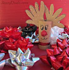 25 geniales adornos de navidad hecho con rollos de papel