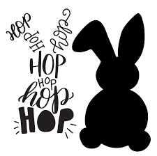 halloween svg free hand lettered typographic easter bunny free svg cut file