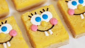spongebob lemon bars nerdy nummies youtube