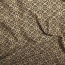 Traditional Upholstery Fabrics Traditional Georgian Floral Geometric Diamond Tapestry Weave