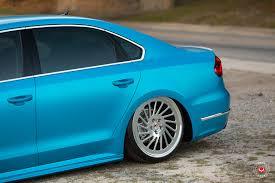 volkswagen passat r line blue volkswagen 2016 vw passat r line vossen forged lc 106t wheels
