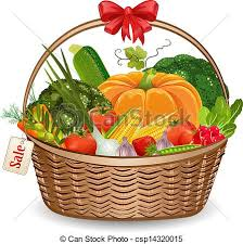 fruit and vegetable basket fruits and vegetables basket clipart clipart panda free