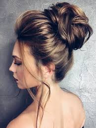 bridal hair bun 75 chic wedding hair updos for brides chongos half updo