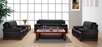 modern style office leather sofa with luxury home and office