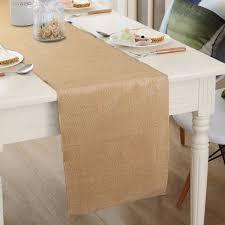 natural burlap table runner ourwarm 10pcs 30x275cm natural jute table runner for wedding burlap
