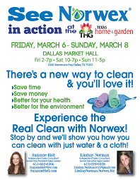 Design Your Own Home And Garden by See Norwex In Action At The Dallas Home And Garden Show March 6th